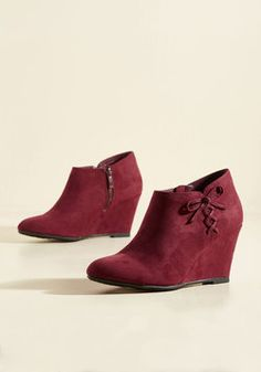 Living on the Wedge Bootie
