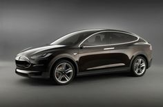 Tesla's Model X Electric crossover designed for women.