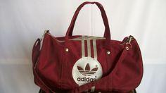 381fe2f1a15f4 Vintage duffle bag. Viva Thabethe · Adidas Original · Roger Federer Roland  Garros ...