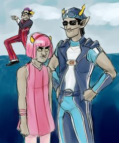 Oh god... I will never be able to unsee this... It's kinda funny though because I loved Lazy Town as a little kid and now I love Homestuck... But this is just horrifying...