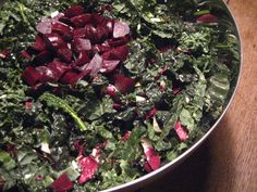 Tuscan Kale and Beet Salad