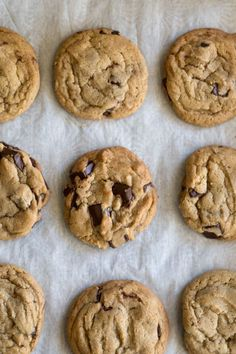 Bakery Style Chocolate Chip Cookies - this recipe makes amazing chewy chocolate chip cookies!