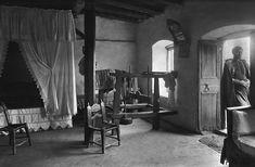 Crete, home interior, 1911 by Frederic Boissonnas