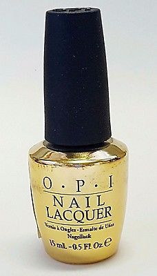 OPI The Man With The Golden Gun 18K Gold Top Coat Nail Polish Skyfall 2012 New