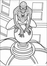 Malebog. Tegninger Spiderman26