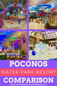 Looking for the right Poconos water park for your family? Check out this Poconos water park comparison guide to find the best fit for you! Best Family Vacation Spots, Best Places To Vacation, Family Travel, Canada Travel, Travel Usa, Park Resorts, Abandoned Amusement Parks, Water Parks, Abandoned Castles