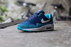 Nike Air Max 1 GS- Tiger & Brave Blue