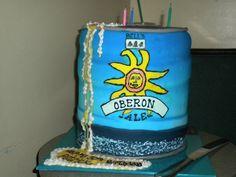 Oberon mini-keg CAKE! c/o Chicago's TipsyCake Bakery http://bit.ly/HkPwVW