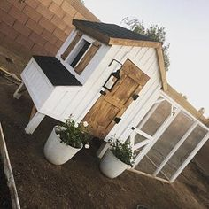 Eugenia loved their purchase from CoopExpert Chicken Coop Designs, Small Chicken Coops, Diy Chicken Coop Plans, Chicken Coup, Backyard Chicken Coops, Chicken Runs, Chickens Backyard, Moveable Chicken Coop, Chicken Coop Building Plans