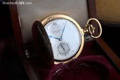 Watches by SJX: Up Close with an Epic Patek Philippe Grande Sonnerie Pocket Watch