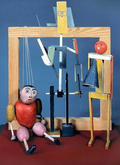 Bauhaus. Puppets for Oskar Schlemmer, 1923