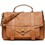 Proenza Schouler PS1 Large Leather in Birch