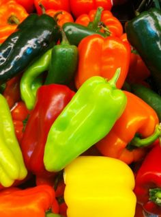 Chili Peppers and Bell Peppers