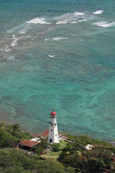 Diamond Head lighthouse Hawaii