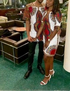 If you happen to have to be going for an Ankara style, then you must look out for Ankara styles for couples that would complement you both. African Dresses For Women, African Print Dresses, African Fashion Dresses, African Attire, African Wear, African Women, African Prints, African Style, African Inspired Fashion