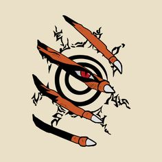 Awesome 'Naruto+Nine+tails' design on TeePublic!