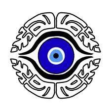 greek evil eye tattoos for women - Bing Images Hand Tattoos, Cool Tattoos, Eye Tattoos, Tatoos, Greek Evil Eye Tattoo, Eye Outline, Evil Eye Art, Lucky Charm Bracelet, Turkish Pattern