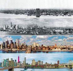 紐約城市進化圖1876-2013