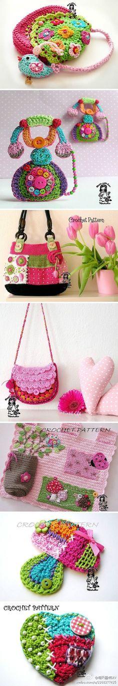 国外手工达人的编织 creative crochet