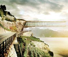 World's Coolest Futuristic Buildings: Wine Museum, Lavaux, Switzerland