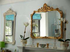 Espelho, espelho meu! São ótimos para dar amplitude ao ambiente.