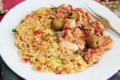 Spanish Chicken and Rice - easy and affordable dinner idea!