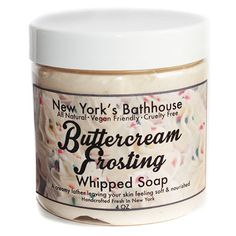 Butter Cream Frosting Whipped Soap
