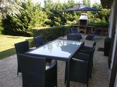 Vasto 10 : salon de jardin encastrable 10 places - résine tressée ...