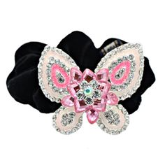Stylish Ladies Headdress Elastics Hair Ties Hair Band Romantic Butterfly Pink >>> Find out more about the great product at the image link.