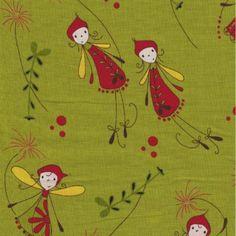 Woodland Fairies Green