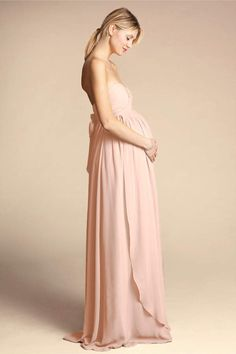 4c4a692579a58 BHLDN Cerise Maternity Dress Morning Mist in Bridesmaids & Bridal Party. The  Style Expert