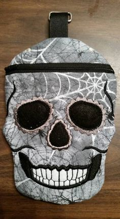 Skull Bag,skeleton by VampqueensVault on Etsy