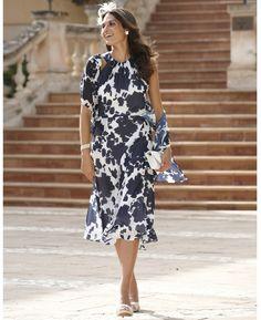"""Joanna Hope"" Joanna Hope Print Peplum Dress And Scarf at Marisota"