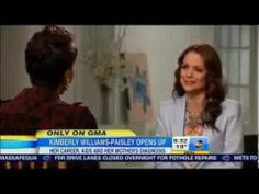 Actress Kimberly Williams Paisley opens up about her mother's dementia on Good Morning America.