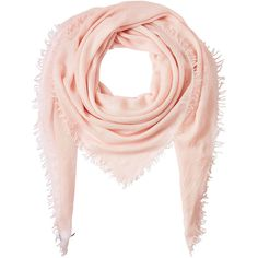 Faliero Sarti Cashmere-Silk Scarf ($315) ❤ liked on Polyvore featuring accessories, scarves, rose, faliero sarti scarves, cashmere silk scarves, faliero sarti, pink scarves and fringed shawls