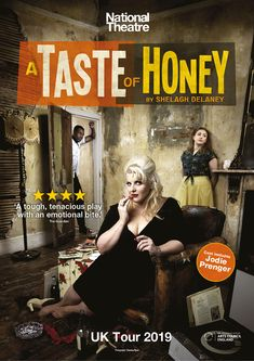 A Taste of Honey UK Tour activation 2019 for National Theatre Productions. National Theatre, Print Advertising, Arts And Entertainment, Art Market, Amsterdam, Digital Marketing, It Cast, Honey, Tours
