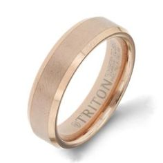 Shop online Arthurs Collection GTC-12485 Plain Tungsten Carbide Mens Wedding bands  at Arthur's Jewelers. Free Shipping