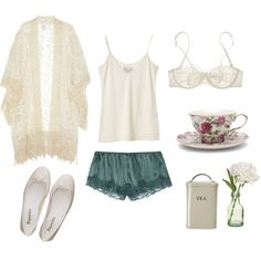 morning tea Lingerie, Sleepwear & Loungewear - http://amzn.to/2ij6tqw