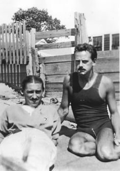 Charles Demuth and Eugene O'Neill in Provincetown, 1916