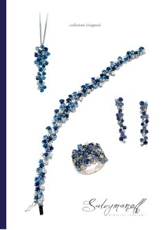 The design is soft and elegant, which is elevated even further by the quality and careful selection of its precious stones.