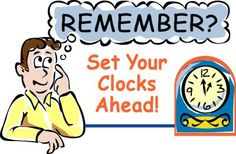 """Daylight Saving Time begins this Sunday, March 11, 2012, 2:00am & ends Sunday, November 4, 2012 2:00am. (except Arizona and Hawaii)   Move your clocks ahead 1 hour in spring and back 1 hour in fall.   """"Spring forward, fall back"""""""