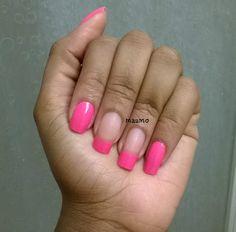 total pink nail
