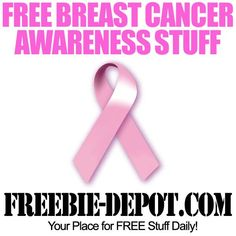 FREE Breast Cancer Awareness Stuff breast cancer awareness…