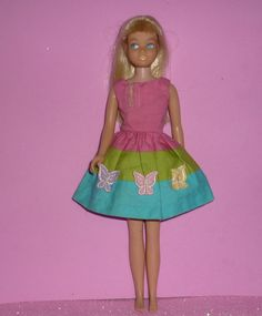 SOLD-Mattel Skipper Doll  Blonde wearing Tagged by DolllightedToMeetYou #dolllighted