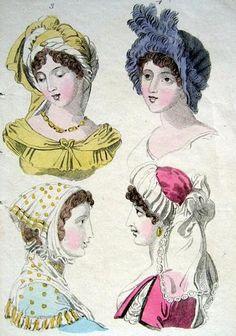 1802 Bonnets http://patchworkconpatrones-donny.blogspot.com.ar/