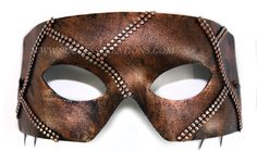 Rafe Hand-painted Chain Mail Mens Masquerade Mask