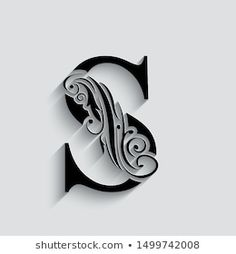 Alphabet Letters Design, Hand Lettering Alphabet, Alphabet Art, Tattoo Lettering Fonts, Lettering Design, S Letter Names, Cool Symbols, Diy Bead Embroidery, Alphabet Wallpaper
