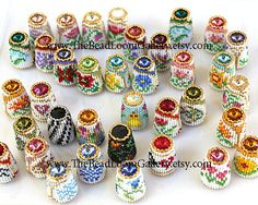 Made to Order - Pick One - Beaded Thimble with Swarovski Rivoli Top - You Choose on Etsy, $33.06 AUD