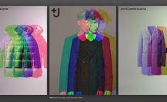 very nice graphics for uniqlo by Yugo Nakamura