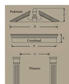 Pilasters on Pinterest | Home Theaters Home Theatre and Home . & Great link to architectural building/ house styles and terms: Door ... Pezcame.Com